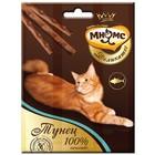 Деликатес лакомые палочки Мнямс для кошек, с тунцом, 9 см, 3 х 4 г