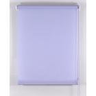 Рулонная штора «Комфортиссимо» 40х160 см, цвет серо-голубой