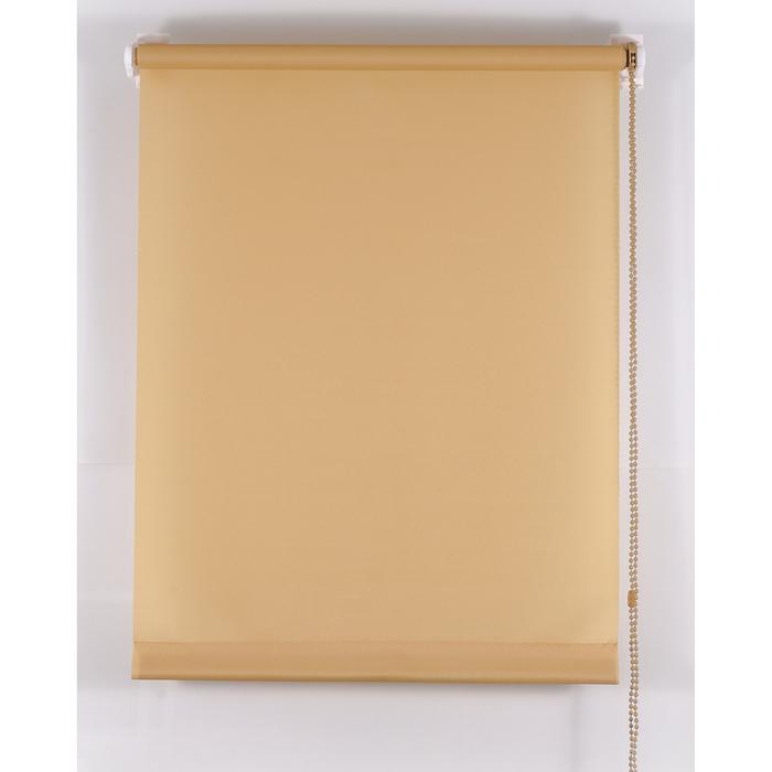Рулонная штора «Комфортиссимо», размер 55х160 см, цвет кофе