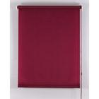Рулонная штора «Комфортиссимо» 40х160 см, цвет красное вино