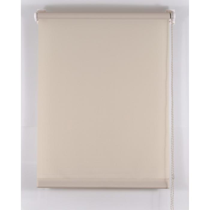 Рулонная штора «Комфортиссимо», размер 45х160 см, цвет серый