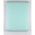 Рулонная штора «Комфортиссимо» 40х160 см, цвет светло-зелёный