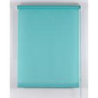 Рулонная штора «Комфортиссимо» 40х160 см, цвет морская волна