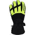 Снегоходные перчатки AGVSPORT Kapay, чёрный, жёлтый, S, A07335-035-S