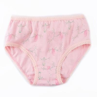 Трусы для девочки А.11188, цвет розовый (принт птички), рост 104