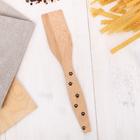 Лопатка деревянная «Озорные лапки», 28 × 5.5 × 0.4 см