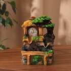 """Fountain """"Bungalow in the tropics"""" 11*13*19,5 cm (with lighting)"""