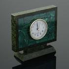 """Watch table """"Semaphore"""", 15х5х13 cm, serpentine, malachite"""