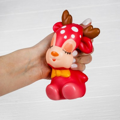 Мялка-сквиши «Оленёнок», цвета МИКС
