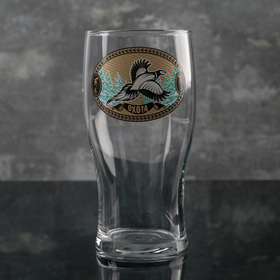 Бокал для пива «Тюлип. На охоте», 570 мл, рисунок МИКС