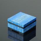 Box omega 7х7х3 cm, dolerite, lapis