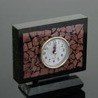 """Watch table """"Semaphore"""", 15х5х13 cm, serpentine, rhodonite"""