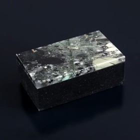 """Box """"agate"""", 9,5x5,5x3,5 cm, dolerite, agate"""