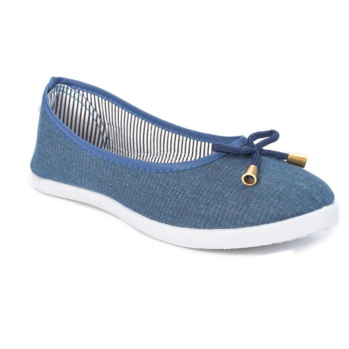 Балетки женские 806 MINAKU, голубой, размер 40