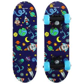 Скейтборд детский «Космический мир» 44х14 см, колёса PVC d=50 мм Ош