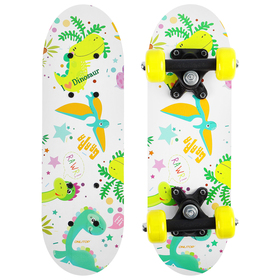 Скейтборд детский «Дракоша» 44х14 см, колёса PVC d=50 мм Ош
