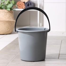 Ведро «Эконом», 5 л, цвет чёрный