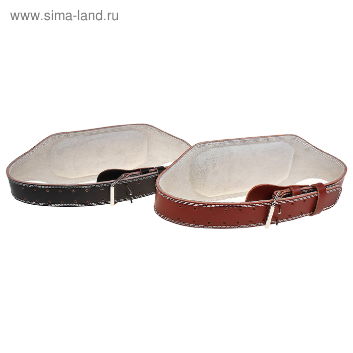 Пояс для тяжелой атлетики, размер М, ширина 15 см, диаметр 120 см, цвета МИКС