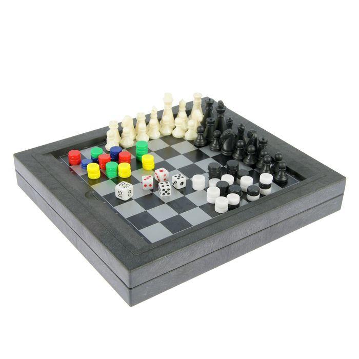 Игра настольная 10 в 1, магнитная