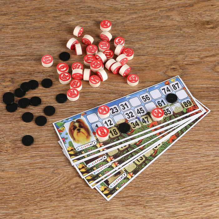 """Лото """"Саванна"""", 24 карты, в пакете"""