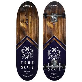 Скейтборд подростковый TRUE SKATE, 71х20 см, колёса PVC d=50 мм Ош