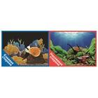 Фон двусторонний PRIME с клеевой стороной «Морские кораллы», 30 x 60 см