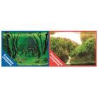 Фон двусторонний PRIME с клеевой стороной «Коряги с растениями», 30 x 60 см