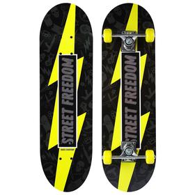 Скейтборд подростковый STREET FREEDOM, 71х20 см, колёса PVC d=50 мм Ош