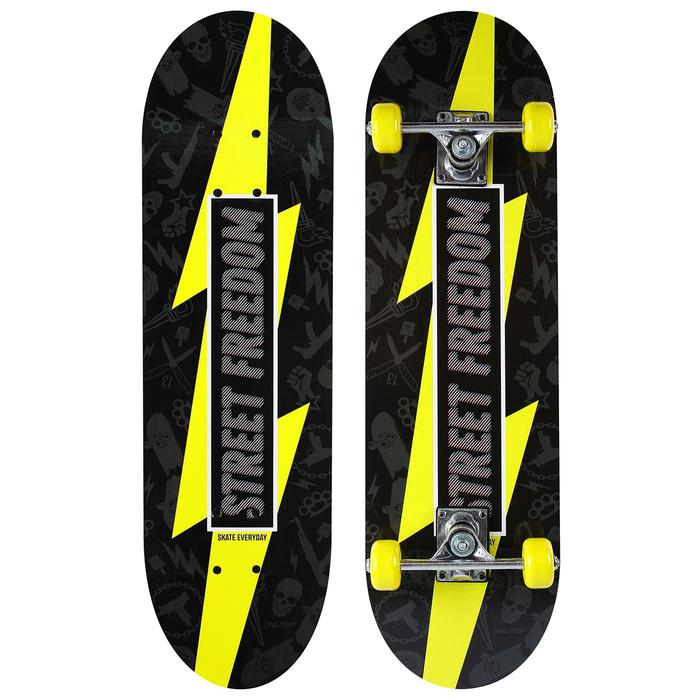 Скейтборд подростковый STREET FREEDOM, 71х20 см, колёса PVC d=50 мм