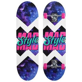 Скейтборд подростковый MAD STYLE, 71х20 см, колёса PVC d=50 мм Ош