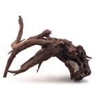 Декорация природная PRIME «Коряга затонувшая», размер S, 20-30 см