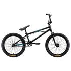 """Велосипед 20"""" Stark Madness BMX 2, 2019, цвет чёрный/голубой"""
