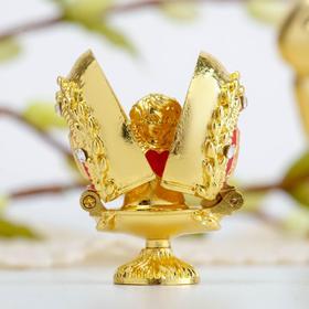 Пасхальное яйцо-шкатулка «Верба. Ангел»