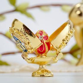 Пасхальное яйцо-шкатулка«Верба. Яйцо»