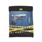 "Мешок для обуви с карманом 430*340 4ALL мал ""Пистолет"" M - 802"