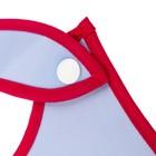 Нагрудник «Модняшка», непромокаемый, на кнопках, с карманом - фото 105449427