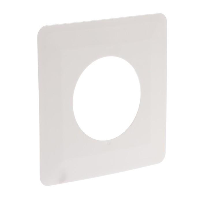Рамка для защиты обоев TDM, 130 х 130 мм, одноместная, белая