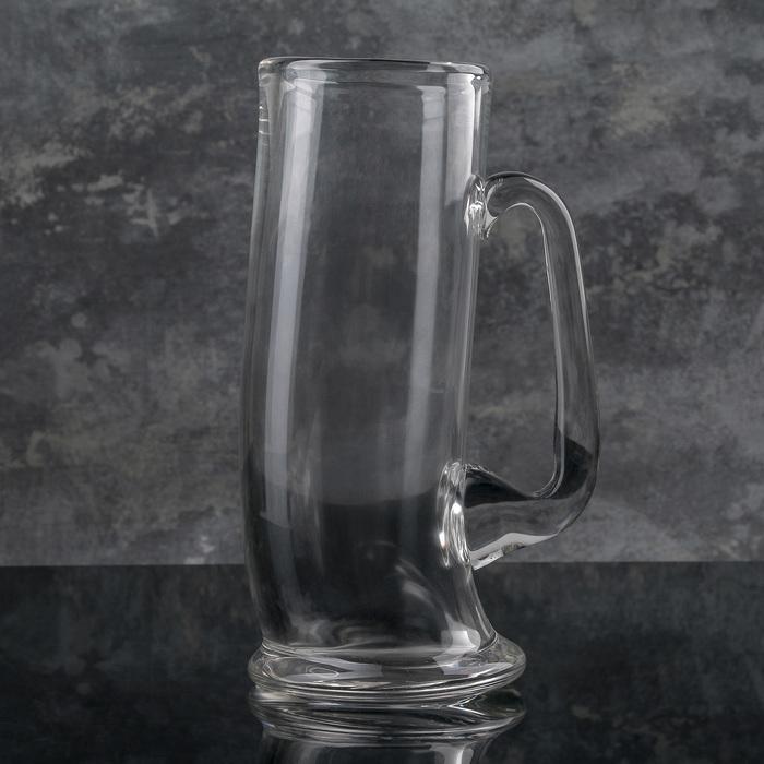 """Кружка для пива 500 мл """"Пьяная"""""""