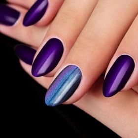 """Stirka """"Magic"""" for the decoration of nails with the applicator, the color purple"""