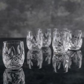 Набор стопок для вина НЕМАН «Камыши» 35 мл, 6 шт
