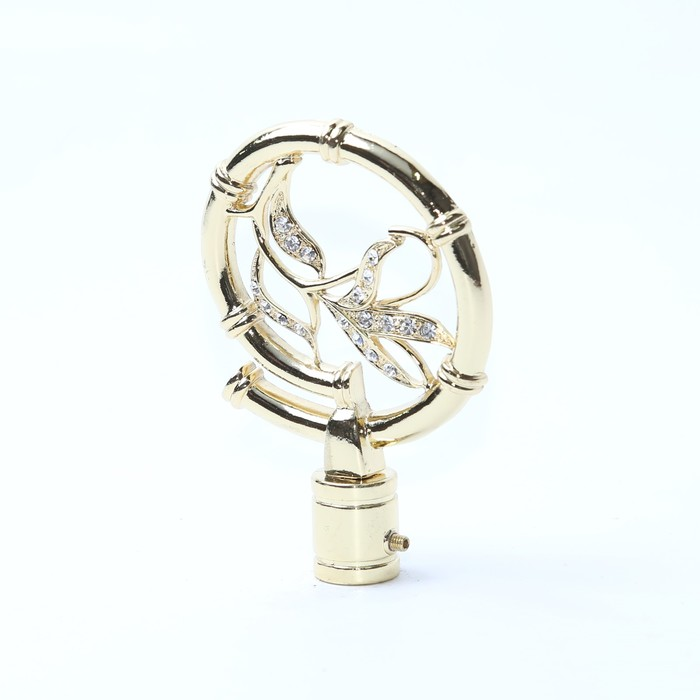 Наконечник «Бамбук», 2 шт, цвет золото глянец