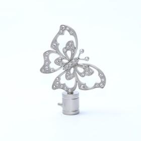 Наконечник «Бабочка», 2 шт, цвет сатин