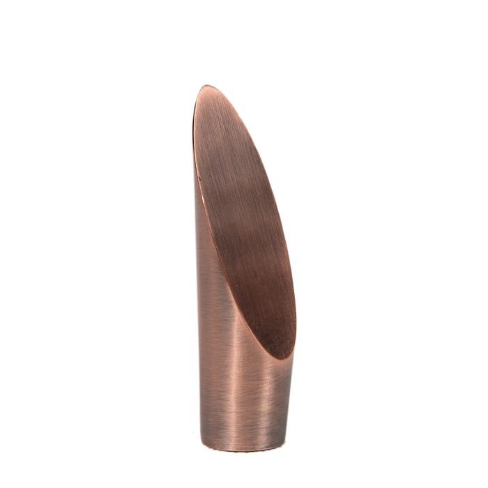 Наконечник «Срез», 2 шт, d=16 мм, цвет медь
