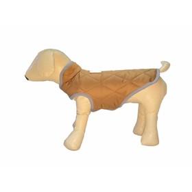 Жилет стеганый зимний для собак OSSO, р.55 (ДС 55см, ОШ 50-56см, ОГ 74-82см), микс