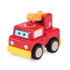 """Деревянная игрушка-конструктор Miniworld """"Пожарная машина"""""""