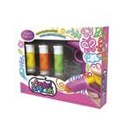 """Набор для рисования пластилином Angel Cream """"Мини-сет"""", 3 цвета"""