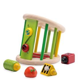 Логическая игрушка-сортер «Жучки»