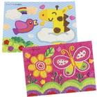 """Набор для рисования пластилином Angel Cream """"Дизайнер"""", 12 цветов"""
