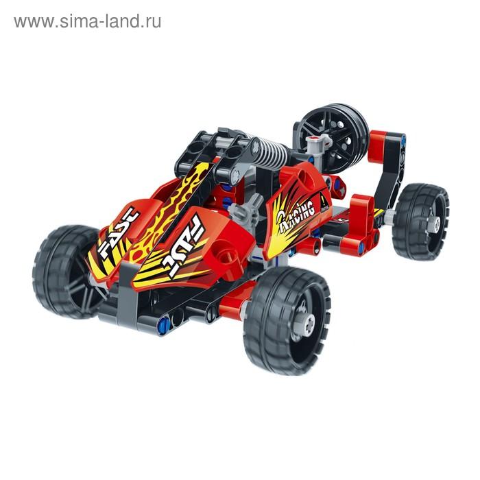 Базовый 3D-конструктор SDL KID-CONSTRUCT «Кроссовер», цвет красный, 127 деталей