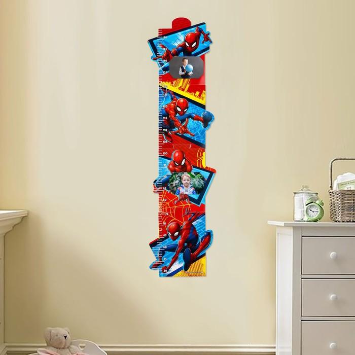 Ростомер с местом под фото, Человек-паук